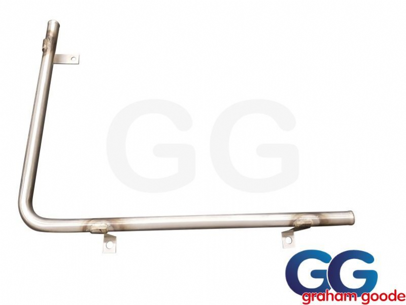 Stainless Steel Water Pipe Bottom Radiator Sierra Sapphire Cosworth 4WD GGR1216